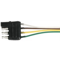 25' Wire Harness - 4-Way Flat Car End Connector