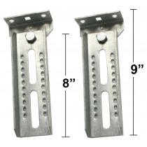 "8"" Bunk Brackets with Swivel - One Pair"
