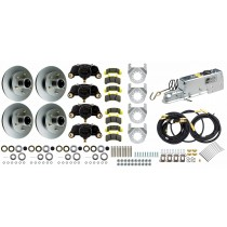 "Tie Down Engineering 12"" Tandem Axle Disc Brake Kit - 6 on 5 1/2"" - Galv-X Coated Rotors"