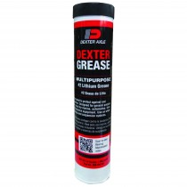 14 oz. Dexter® Bearing Grease Cartridge - #2 Lithium Grease (Red)
