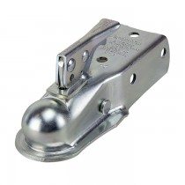 "Dutton Lainson 3,500 lbs 2"" Ball Bolt On Straight Tongue Coupler - 2.5"" Channel"