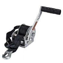 """Dutton-Lainson 600 lb. Single Speed Hand Winch with 15' Strap - 7"""" Handle"""