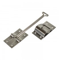 "Enclosed Trailer Stainless Steel 6"" Door Hook and Keeper"