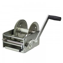 "Fulton 3,700 lbs. Two Speed Hand Winch with Hand Brake - 10"" Handle"