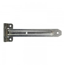 "Trailer Door Hinge - 13 3/4"" Long x 2"" Wide - Zinc Plated"