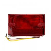 Submersible Tail Light with Pre-Spliced Wires - Left Hand