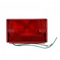 Submersible Tail Light with Pre-Spliced Wires - Right Hand