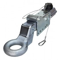 Titan 7,500 lbs. Model 6 Actuator with Pintle Eye - Zinc Plated - Drum Brakes
