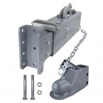 "Titan 12,500 lbs. Model 10 Actuator with Adjustable 2 5/16"" Coupler - Painted - Drum Brakes"