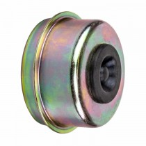 """2.06"""" (2 1/16"""") Grease Cap with Rubber Plug"""
