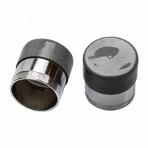 "1.98"" Bearing Protectors for Bearings 44643 or 44649 - Chrome Plated with Cover - 1 Pair"