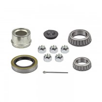 "1 1/16"" x 1 3/8"" Bearing Kit with L68149 and L44649 Bearings, GS6 Grease Seal, 4LN Lug Nuts, and Lube Dust Cap"