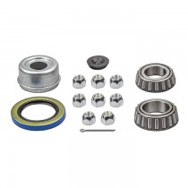Bearings, Seal, Cap, and Lug Nuts Kit - Fits Kodiak Integral Rotor and Hub F5841