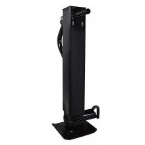"Pro Series 12,000 lbs. Weld On Square Tube Sidewind Jack with Drop Leg and Return Spring - 12"" Travel"