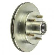 """UFP DB35 9.75"""" Integral Hub/Rotor - 5 on 4 1/2"""" - Zinc Plated"""