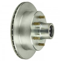 "UFP DB35 12"" Integral Hub/Rotor with 2.32"" Outer Bore - 6 on 5 1/2"" - Zinc Plated"