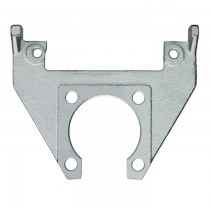 "Kodiak Mounting Bracket for 10"" Integral Hub/Rotor - Dacromet Coated"