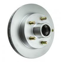 """Kodiak 10"""" Integral Hub/Rotor - 5 on 4 1/2"""" - Dacromet Coated"""