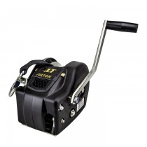 """Fulton XLT Series 3,200 lbs. Two Speed Hand Winch with 20' Strap - 10"""" Handle"""