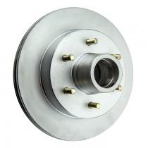 """Kodiak 12"""" Integral Hub/Rotor - 6 on 5 1/2"""" - Dacromet Coated"""