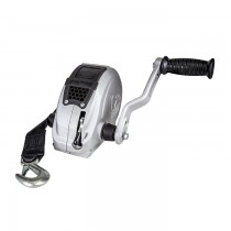 Fulton F2™ Series 1,600 lbs. Single Speed Hand Winch with 20' Strap - 2 Position Handle