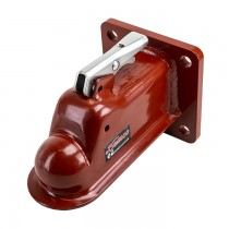"Demco EZ-Latch® 2 5/16"" Coupler with 4-Hole Mounting Plate - 21,000 lbs"