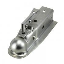 "Fulton Coupler, Class II, 2"" Ball, 2"" Channel, 3500 lbs. Zinc"