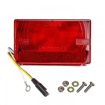 Wesbar Submersible Tail Light with 2-Prong Plug - Left Hand