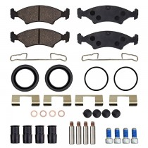 UFP DB35 Caliper Replacement Pads & Parts - Organic