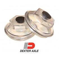 """Dexter 2 7/8"""" Oil Cap, O-Ring, and Plug Kit (1 Pair)"""