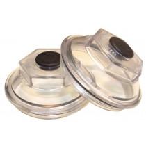 """Dexter 4"""" Oil Cap, O-Ring, and Plug Kit (1 Pair)"""