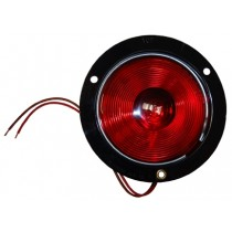 """4"""" Round Tail Light  with Flange"""