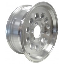 "16"" x 6"" Wide Aluminum Trailer Rim with 6 Lugs on 5 1/2"" Bolt Circle"