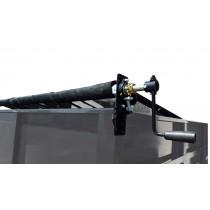 8' x 18' Mesh Tarp and Hardware Tarp Roller Kit for Dump Trailers