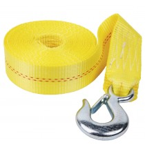 Heavy Duty 10,000 lbs. Hand Winch Strap with Hook - 20' x 2""