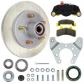 "Tie Down Engineering 9.6"" G5 Series Integral Disc Brake Assembly - 5 on 4 1/2"" - Stainless Steel Rotor"