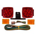 Submersible LED Light Kit with 20' Wire Harness - Marker Lights Included