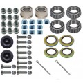 Bearings, Seals, Caps, and Bolts Kit - Fits Kodiak Disc Brake Kits F5868 & F5870